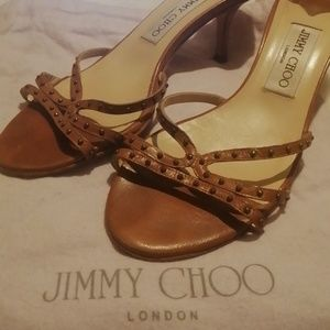 Jimmy Choo Mules with small studs Size 38